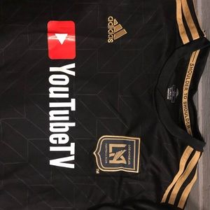 Soccer jersey LAFC Adidas shorts los Angeles